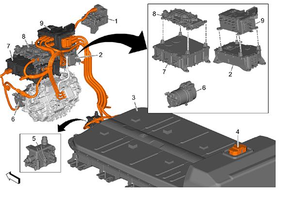 F07 Bolt EV components