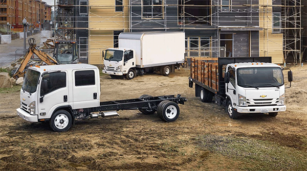 Low Cab Forward Medium-Duty Trucks