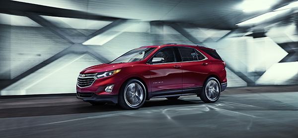 All-New 2018 Equinox Hits the Road