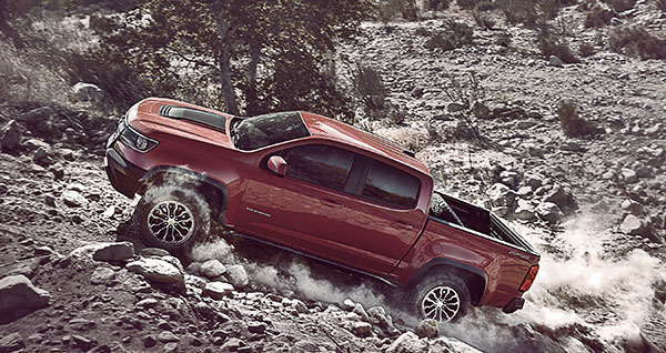 New Colorado ZR2 Takes Off-Roading to New Heights