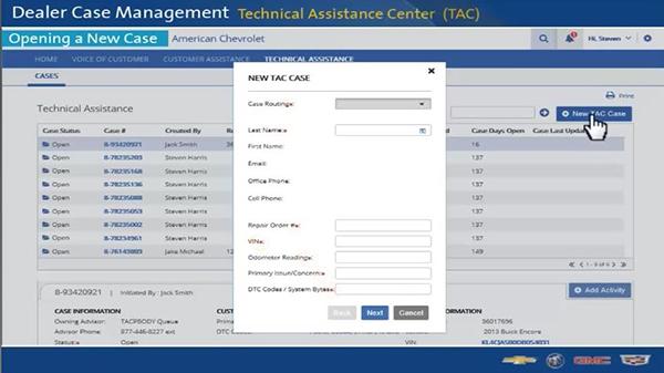 Get Real-Time Feedback with the TAC Dealer Case Management System