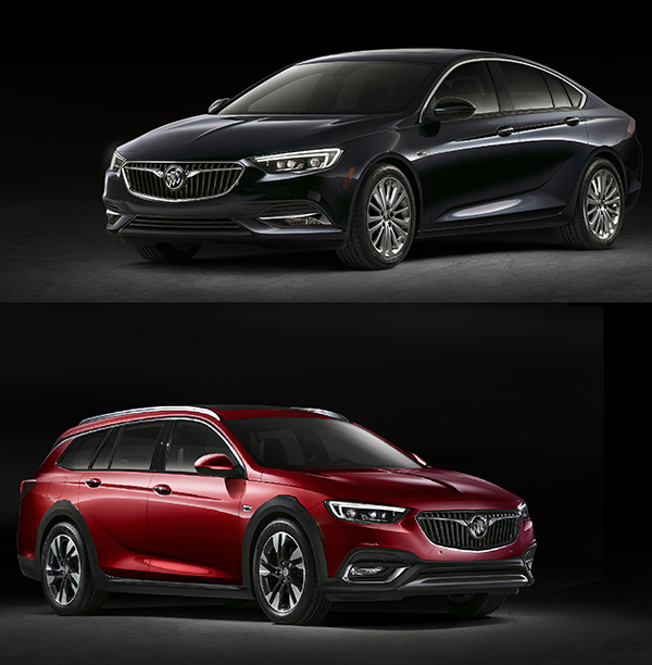 2018 Buick Regal Debuts with New Models