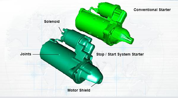 Enhanced Starter Motor Operation in Engine Stop/Start Systems