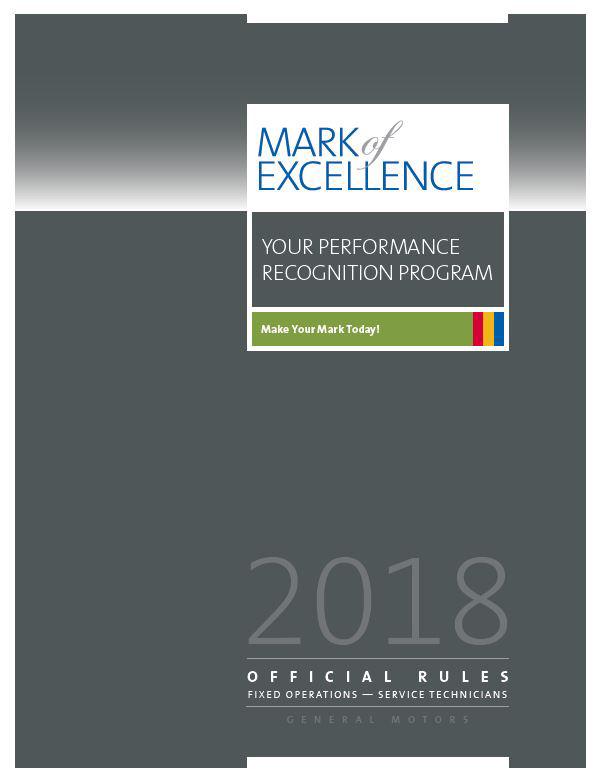 2018 Mark of Excellence Program Enrollment Going on Now