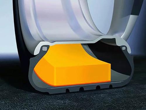 Repairing ContiSilent Tires with Quiet Foam