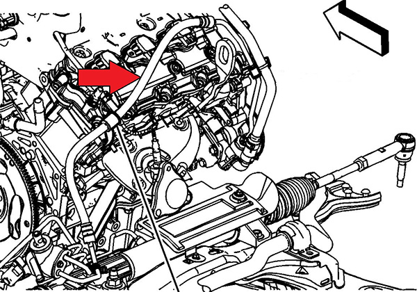 Oxygen Sensor Failure Due to Power Steering Leak