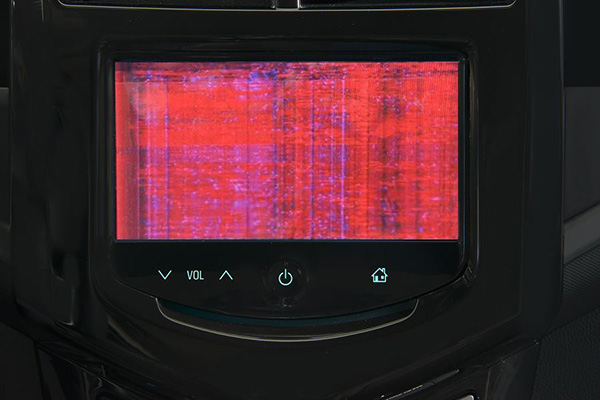 Distorted or Blank Rear Vision Camera Screen