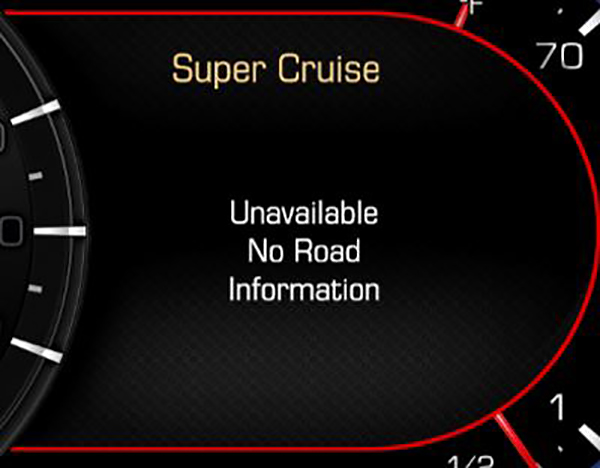 Super Cruise Update Provides Messaging Features
