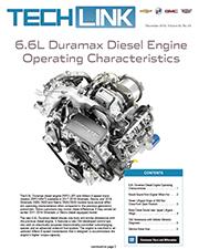 6 6L Duramax Diesel Engine Operating Characteristics