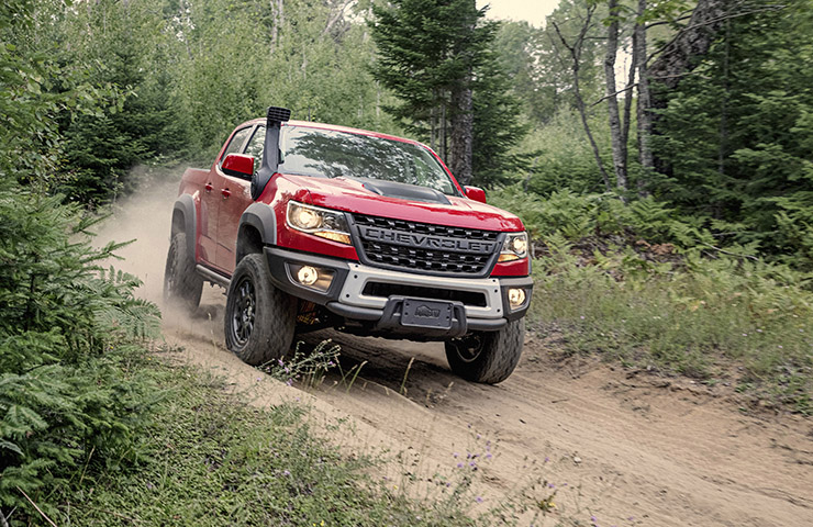 Colorado ZR2 Bison Offers Extreme Off-Road Performance