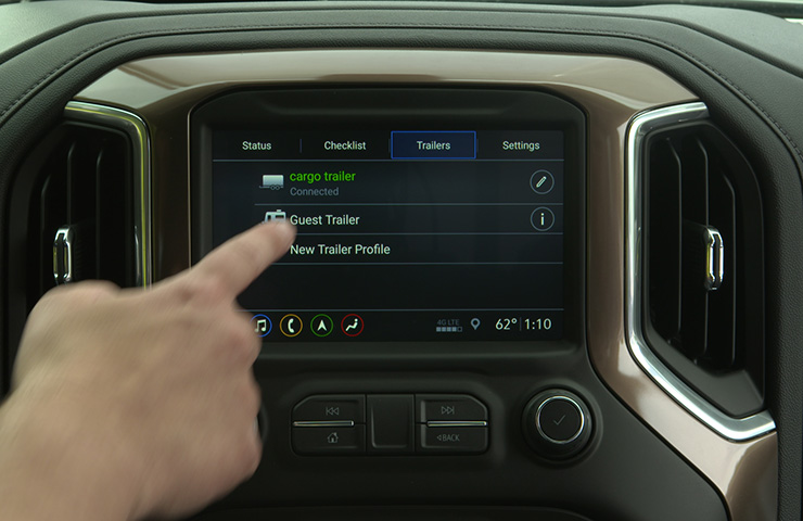 New Trailering App Trailer Connection and Lighting Diagnosis