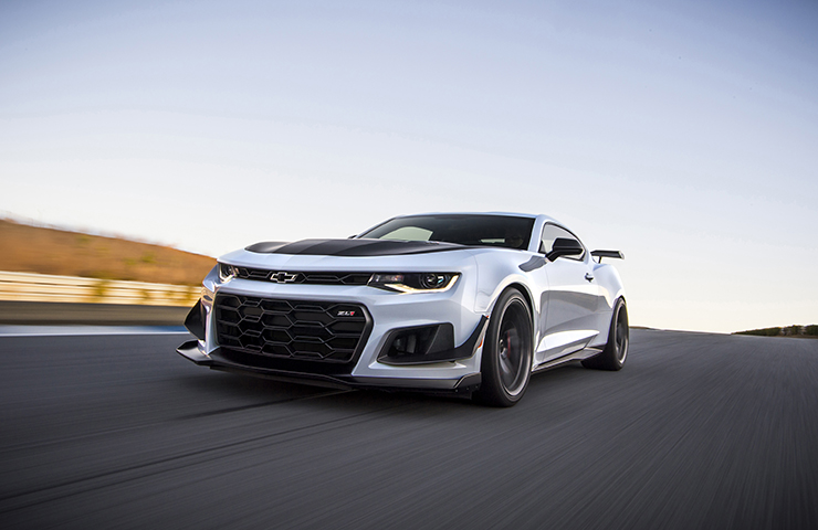 2019 Camaro ZL1 1LE with 10-Speed Automatic Transmission