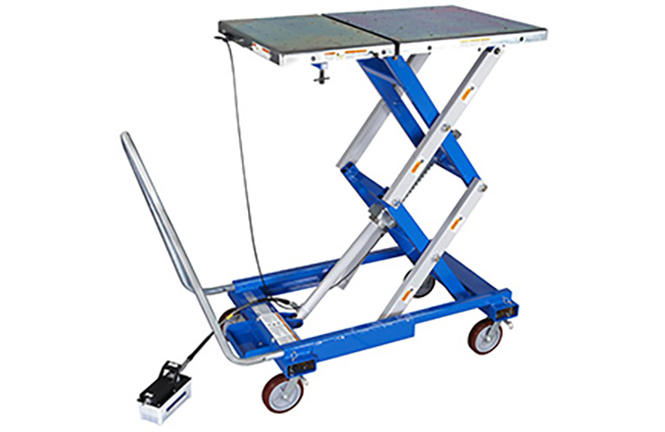 Updated Essential Tool GE-52200-A Powertrain Lift Table Now Shipping