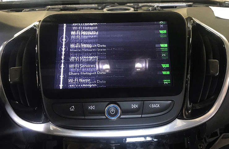 Infotainment Screen Flicker