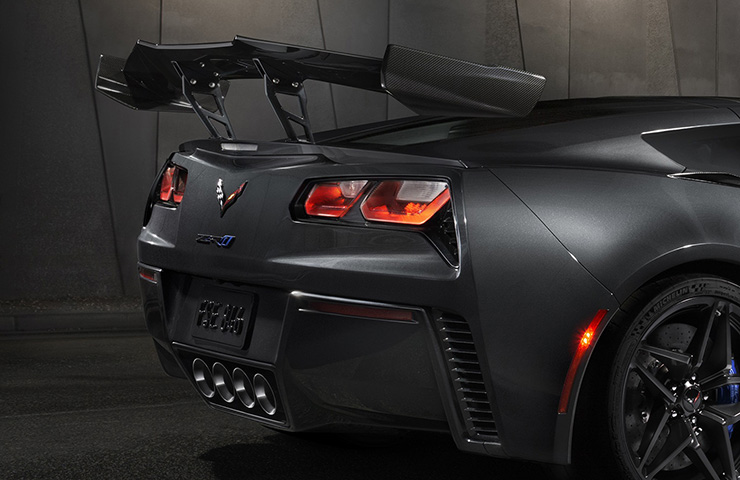 Corvette ZR1 Rear Spoiler Adjustment