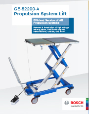 Propulsion System Lift Table