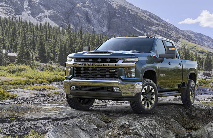 Work It: All-New 2020 Chevrolet Silverado HD and GMC Sierra HD Debut