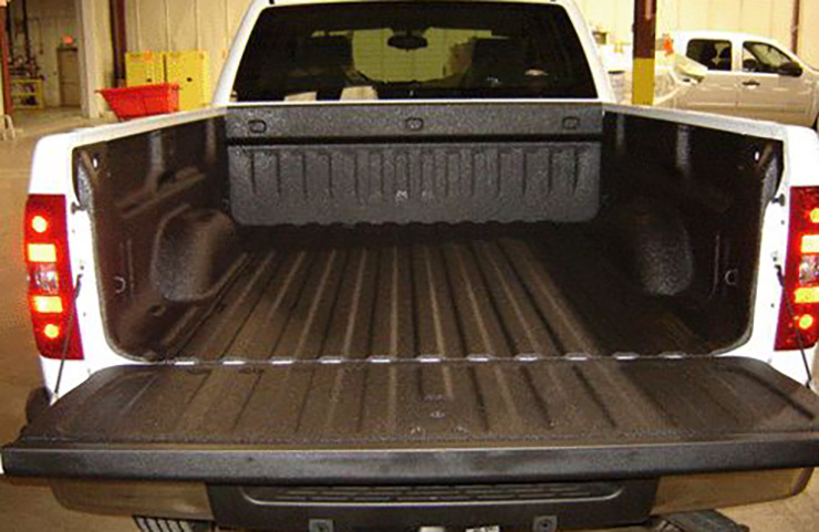 Spray-in Bed Liner Repairs