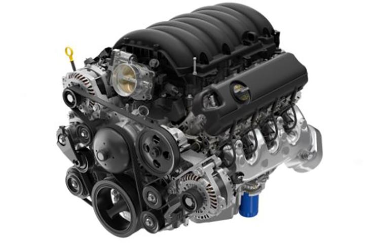 Intercambio de motor de gasolina V8 6.6L