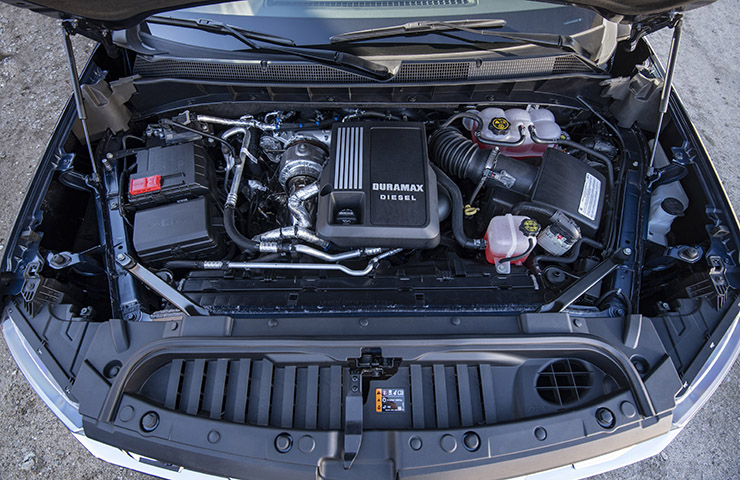 New Duramax Diesel 3.0L 6-Cylinder Engine Powers Up Silverado 1500, Sierra 1500
