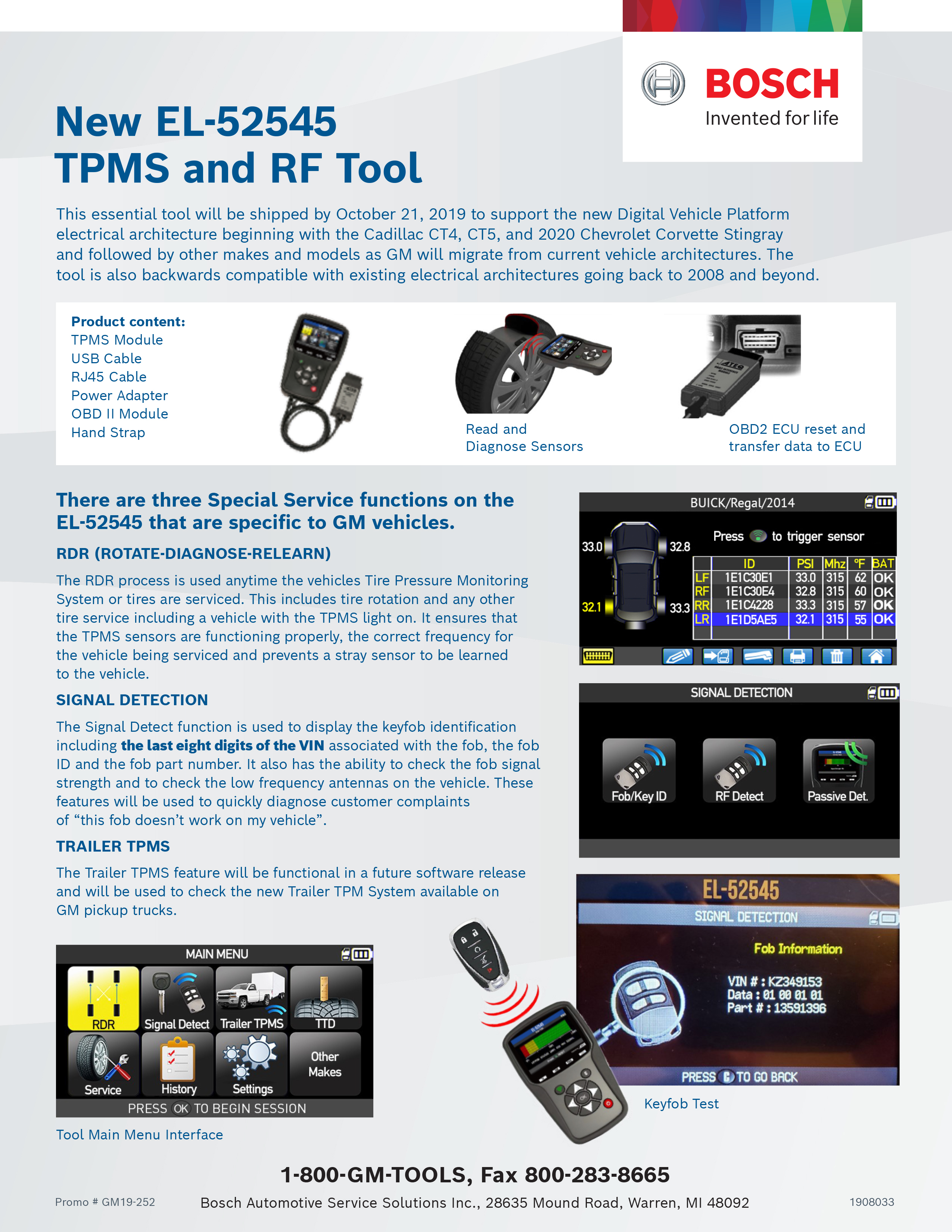 TPMS and RF Tool