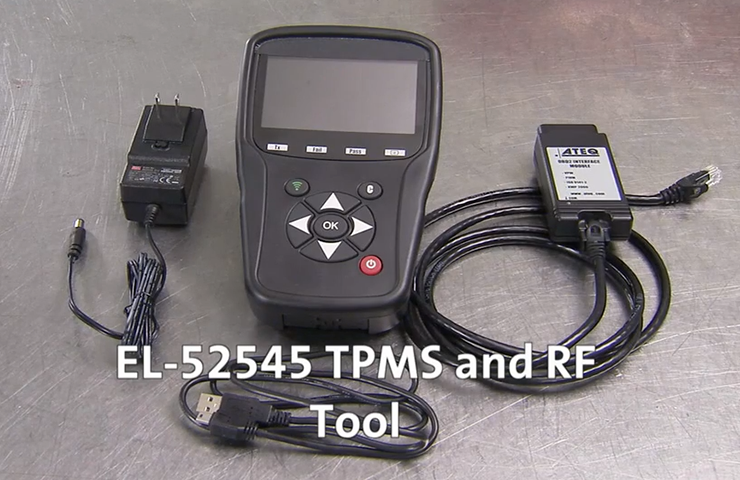 New EL-52545 TPMS and RF Tool Makes TPMS Sensor Relearn Easy