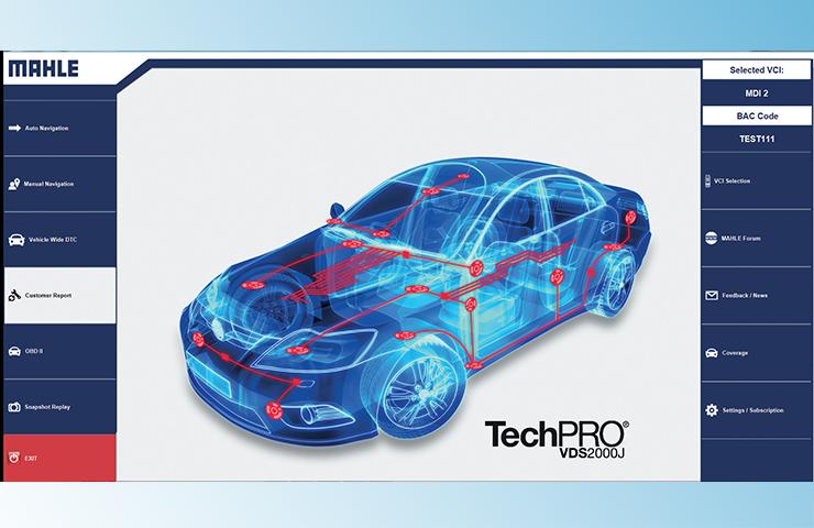 Nueva aplicación de diagnóstico TechPRO para vehículos no pertenecientes a GM