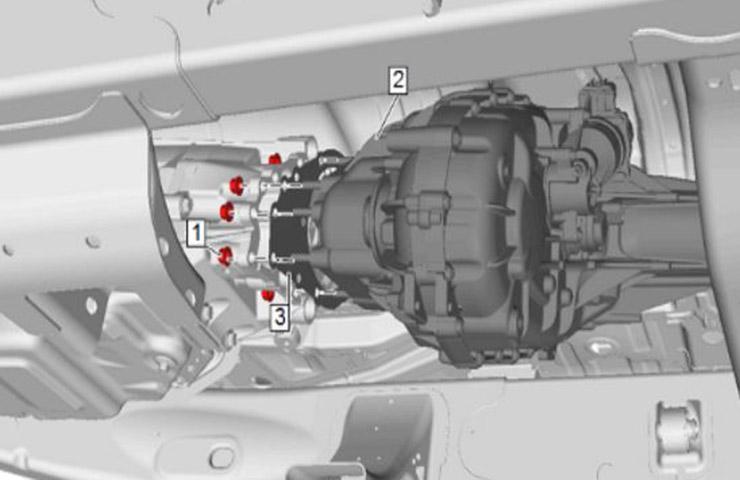 Problema de NVH de caja de transferencia durante desaceleración por inercia
