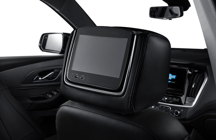 Accessory Rear Seat Infotainment Turns Off When Doors are Closed