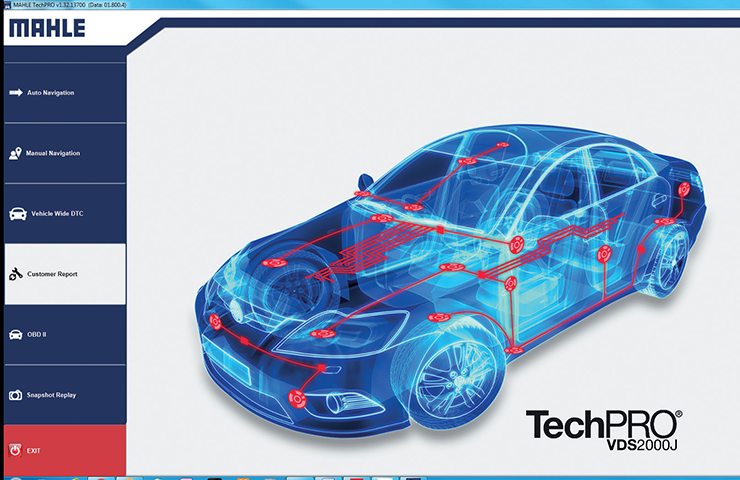 TechPRO Professional Aftermarket Diagnostic Application Free Trial