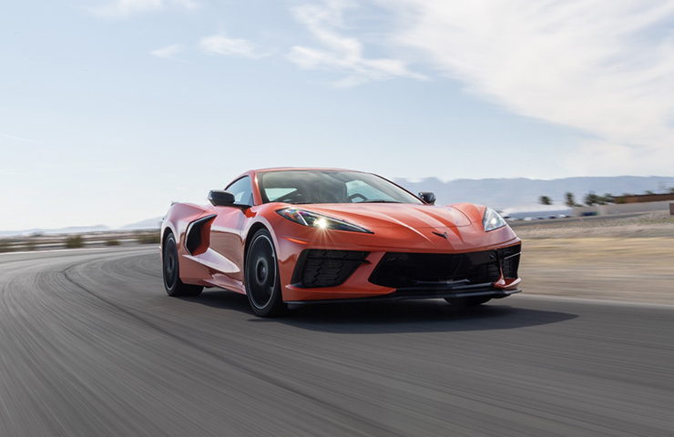 2020 Corvette Stingray Powertrain