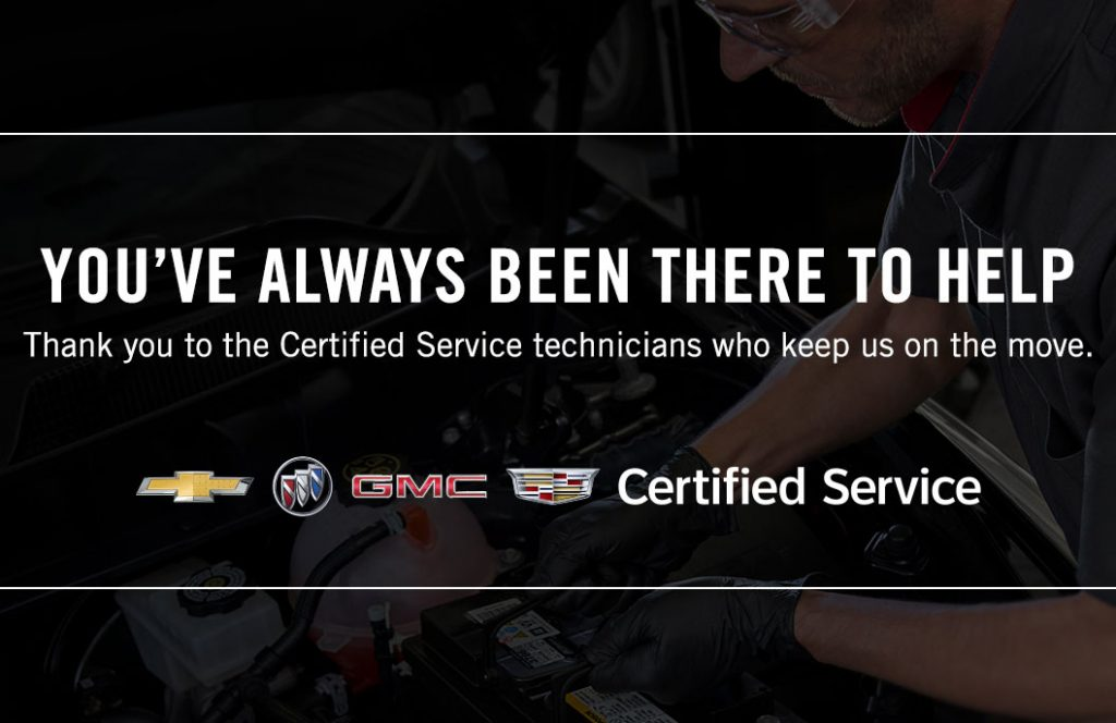 Thanks to All Our Certified Service Technicians
