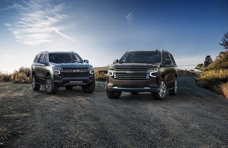 Los totalmente nuevos Chevrolet Tahoe/Suburban y GMC Yukon/XL 2021 tienen más potencia, capacidad y contenido